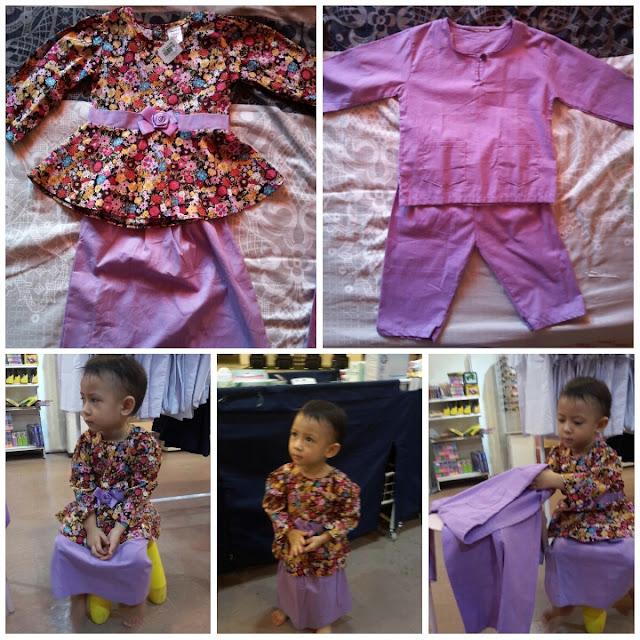 Baju Kurung Baju Melayu Anak Untuk Raya 2016