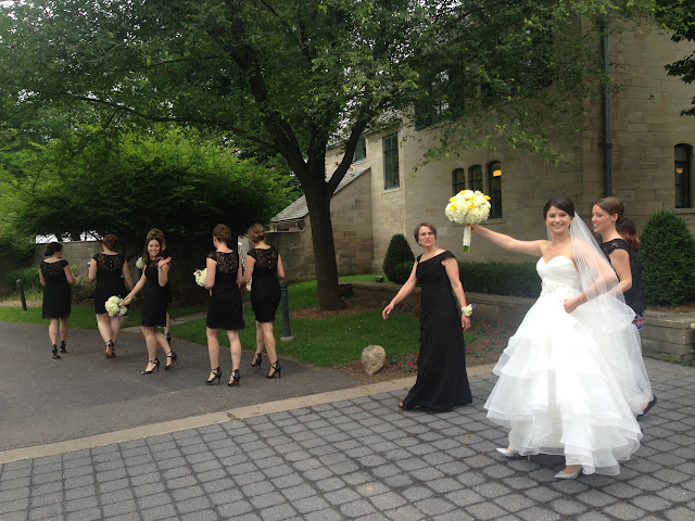 Tented wedding in Ann Arbor