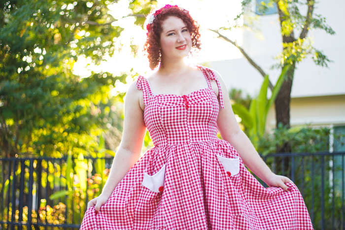 Summer vintage & pinup style | Lavender & Twill