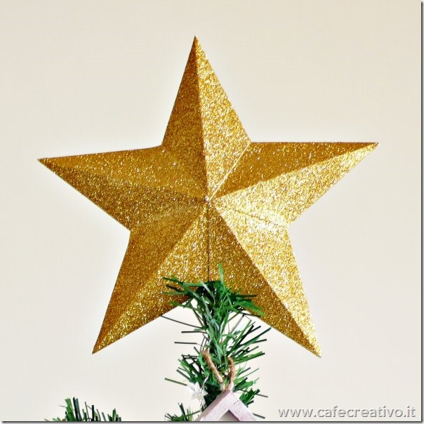 Stella puntale per albero di Natale fai da te - Video tutorial