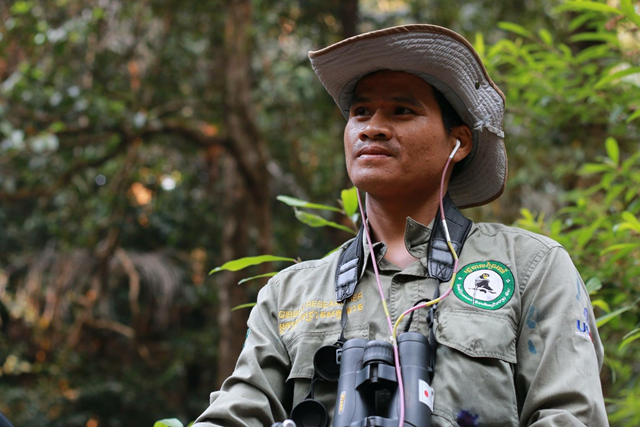 Cambodia Ministry of Environment ranger Teurn Soknai was shot and killed by soldiers in northeastern Cambodia, on 30 January 2018. Photo: Wildlife Conservation Society