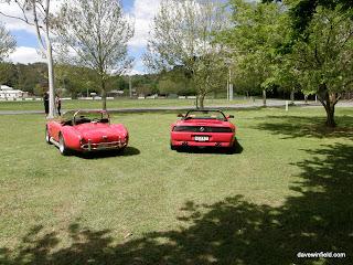 1080Cobra and F348 - Rear