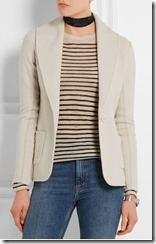 James Perse cotton jersey blazer