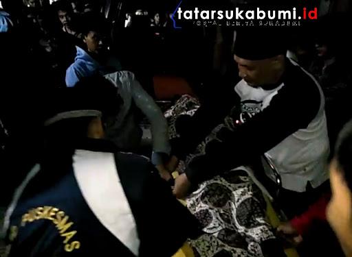 Tukang Roti Asal Tasikmalaya Tewas Tertindih Motor RX King di Sukabumi