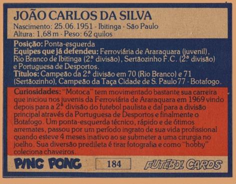 BFC (184) João Carlos Motoca MC