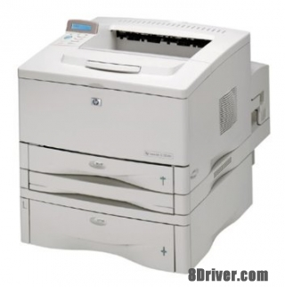 Download HP LaserJet 5100dtn Printer driver & setup