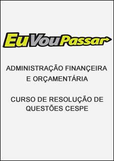 AFO - Resolução de Questões CESPE