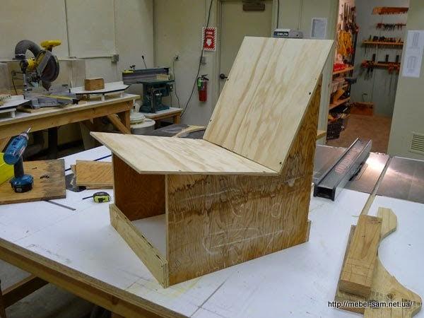 Прототип кресла для испытаний