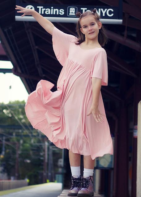 Girls dress and romper pattern