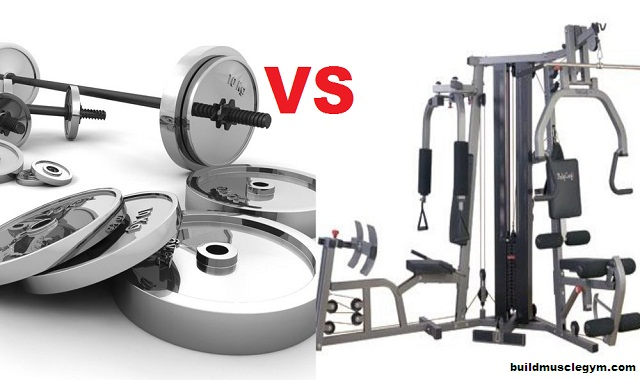 Which Training is Better? Free Weights vs Machines