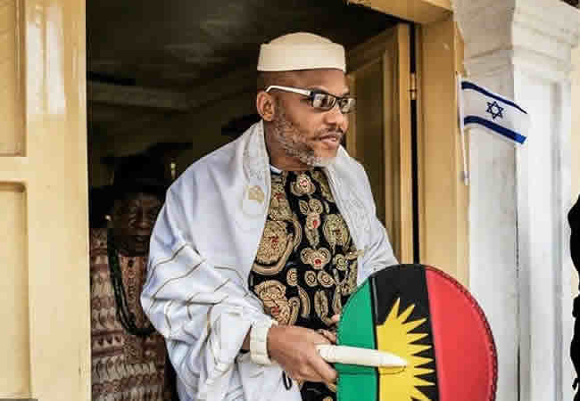 Breaking: Just After EU visit, Kanu petitions UN over alleged human right abuses