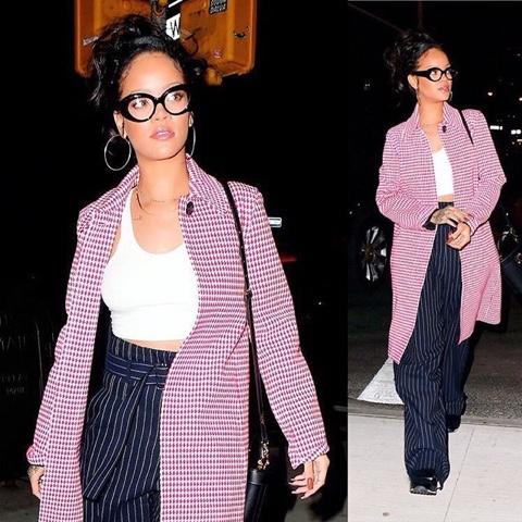 Rihanna in Resort 2016 Céline