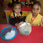 Making Planets WKSN (Junior KG ) 01/12/2015