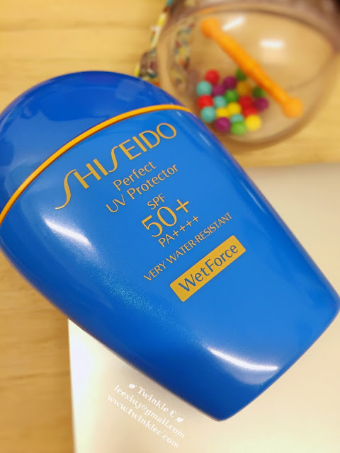 [SKIN] SHISEIDO Perfect UV Protector SPF50+ PA++++ 遇水愈強,真正水中的防曬 ...  ...