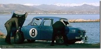 Renault 8 Gordini Ne nous fâchons pas