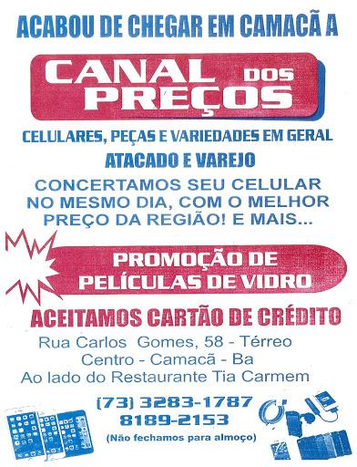 Canal dos preços Camacan