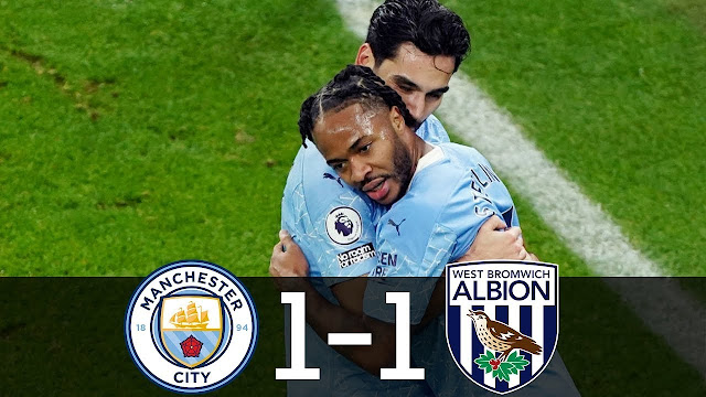 EPL : Manchester City diikat West Brom!