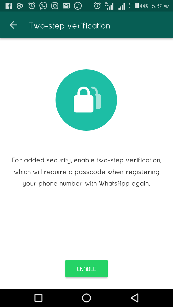 How To Enable 2 Step Verification To Secure Your Whatsapp Account