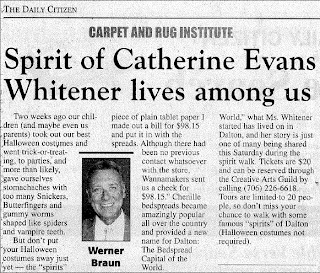 Spirit Walk Celebrates Catherine Evans Whitener by Werner Braun