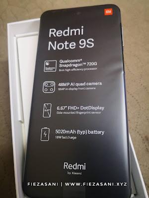 Redmi Notes 9s