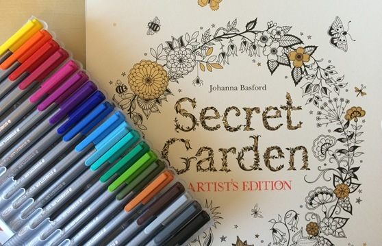 Johanna Basfords Secret Garden Artists Edition