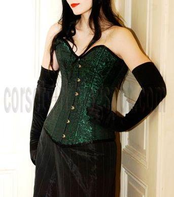 Overbust Corset Ball Gown