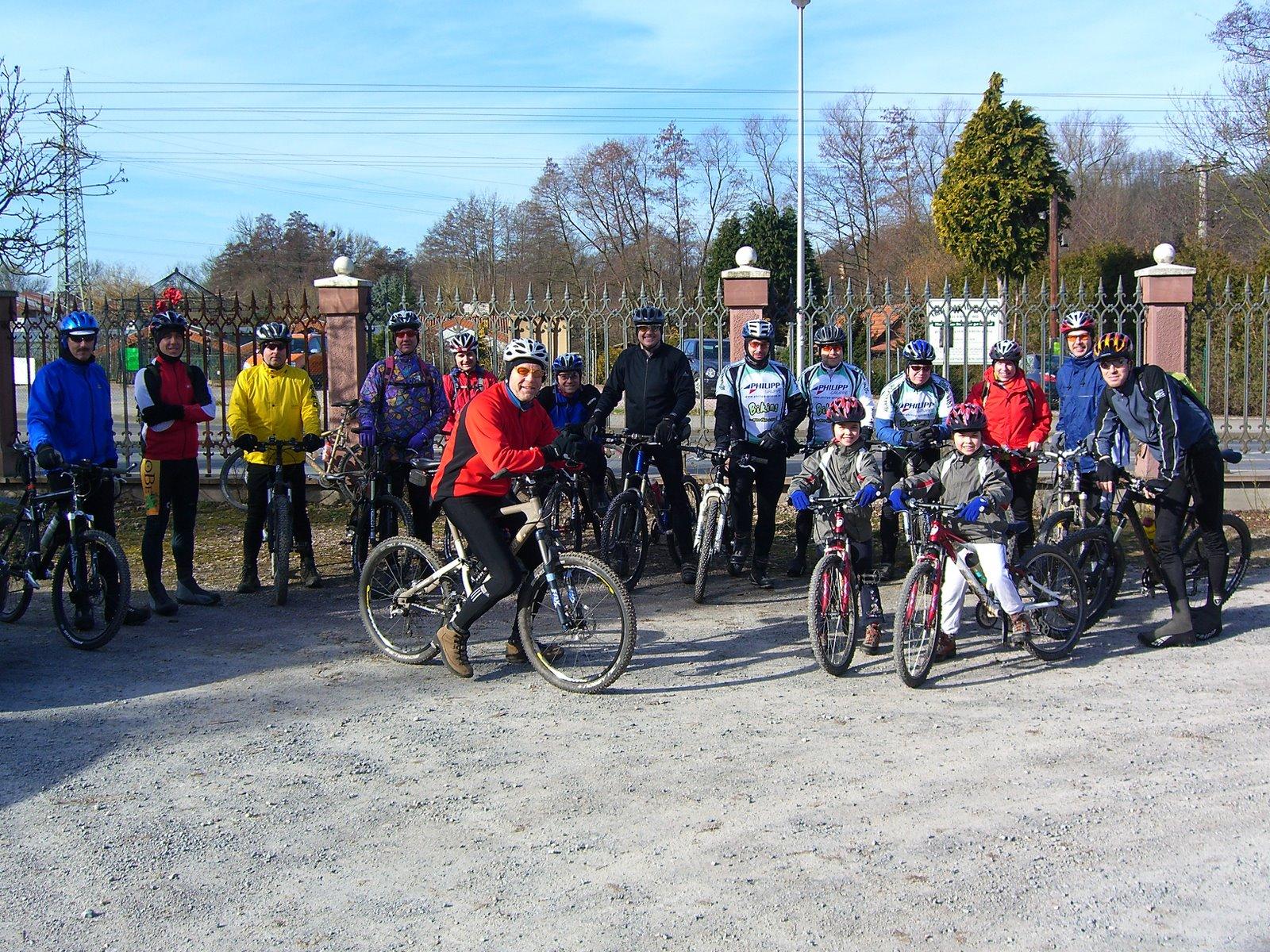 Kick Off Tour 2008: Weyberhöfe, Weibersbrunn, Eselsweg, Steiger, Fronhofen