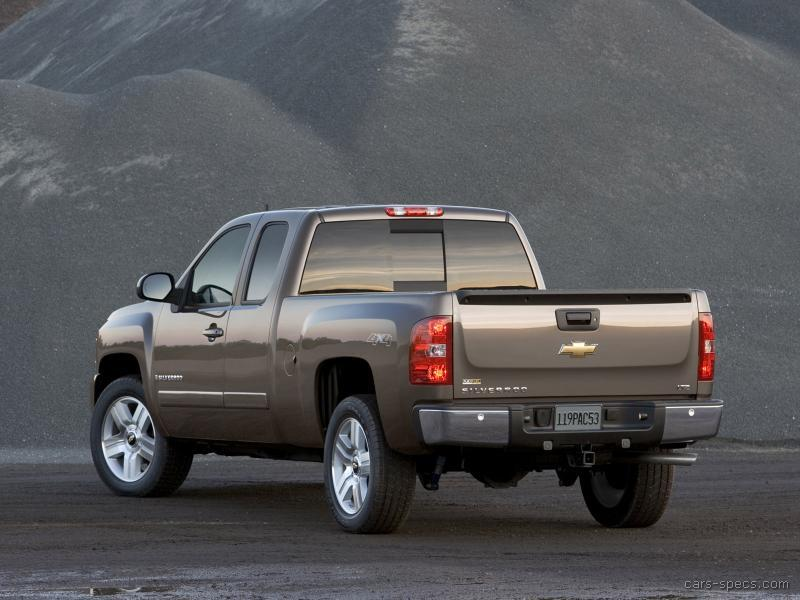 2007 chevrolet silverado 1500 classic extended cab specifications pictures prices. Black Bedroom Furniture Sets. Home Design Ideas