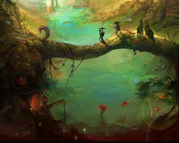 Forest Life, Magical Landscapes 1