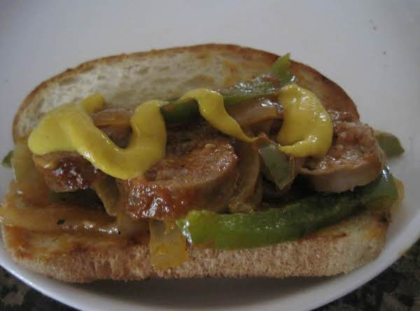 Sausage, Onion And Pepper Hoagies