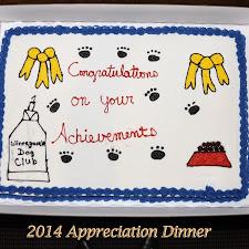 WDC 2014 Appreciation Dinner