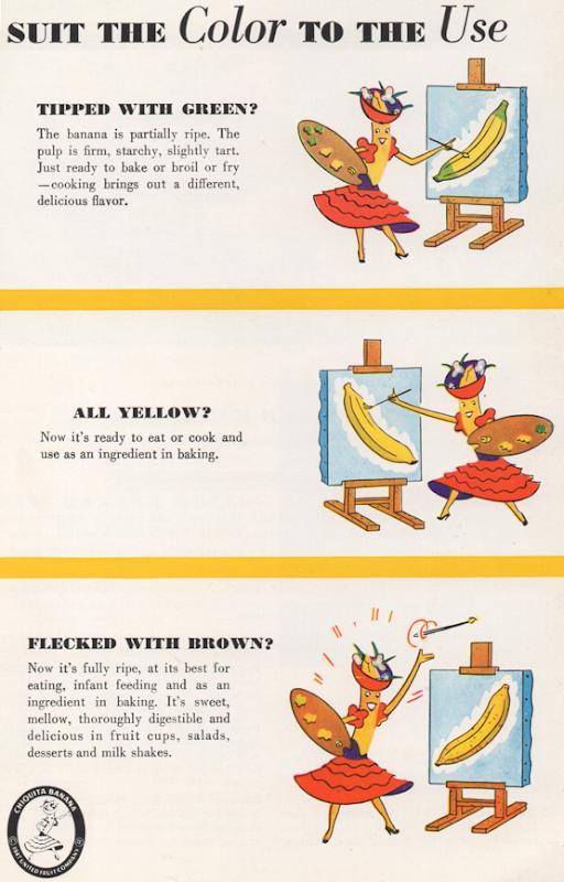 Choosing Bananas ©1947