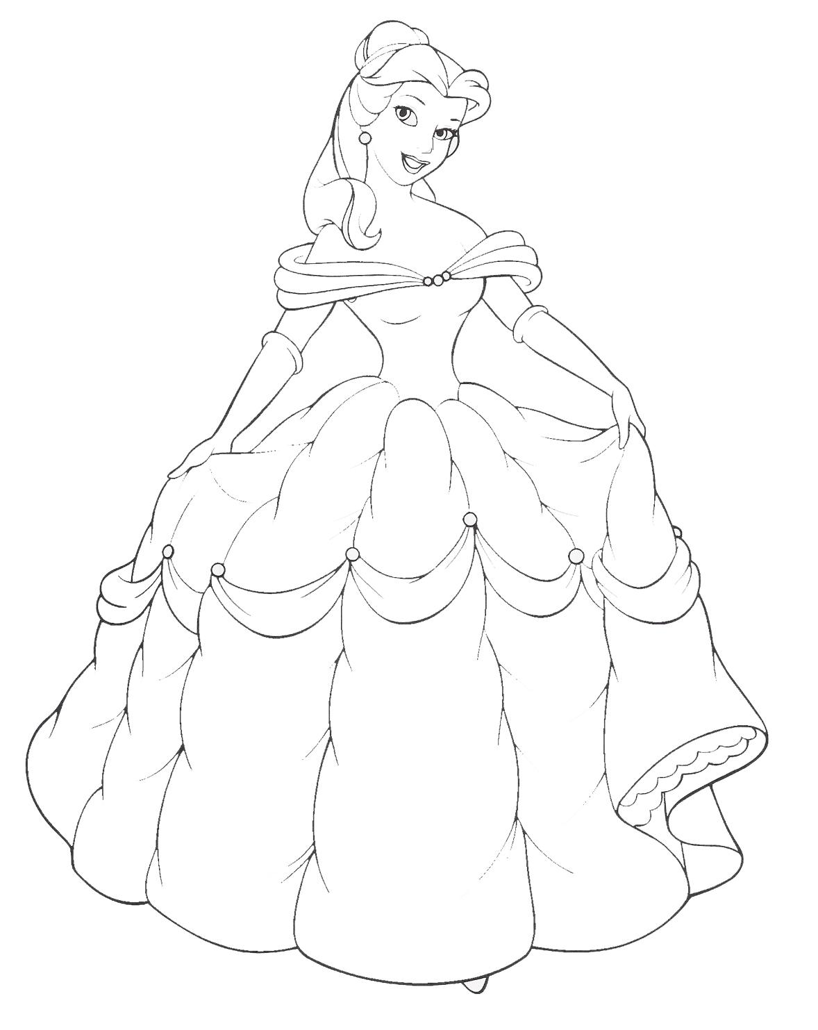 Princess gown coloring pages ~ Paulette's blog: Indian Prom Dresses-6