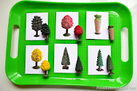 FREE Safari Toob Tree Matching Cards