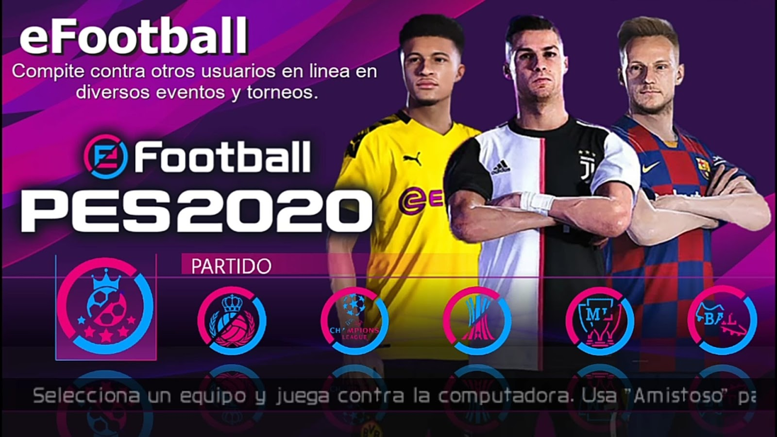 eFootball PES 2020 Camera PS4 PPSSPP Offline 400MB Lite Android / MOBILE