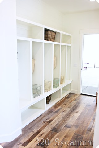 fixer upper mudroom