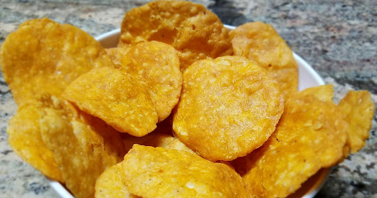 Pappuchekkalu - Rice and Lentil Crisps