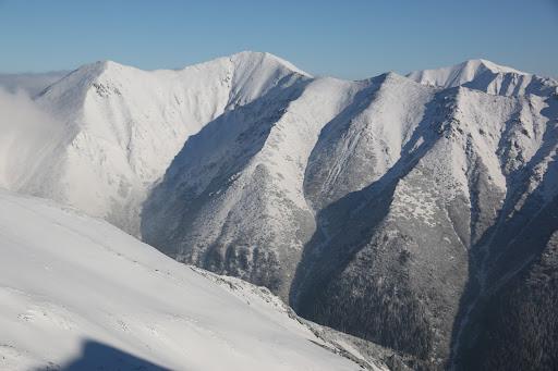 Hrubý vrch, Jakubiná a Bystrá