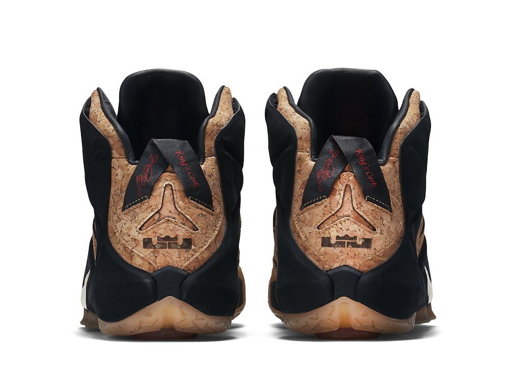 f6627927b40 ... Release Reminder Nike LeBron 12 EXT Kings Cork Close Ups ...