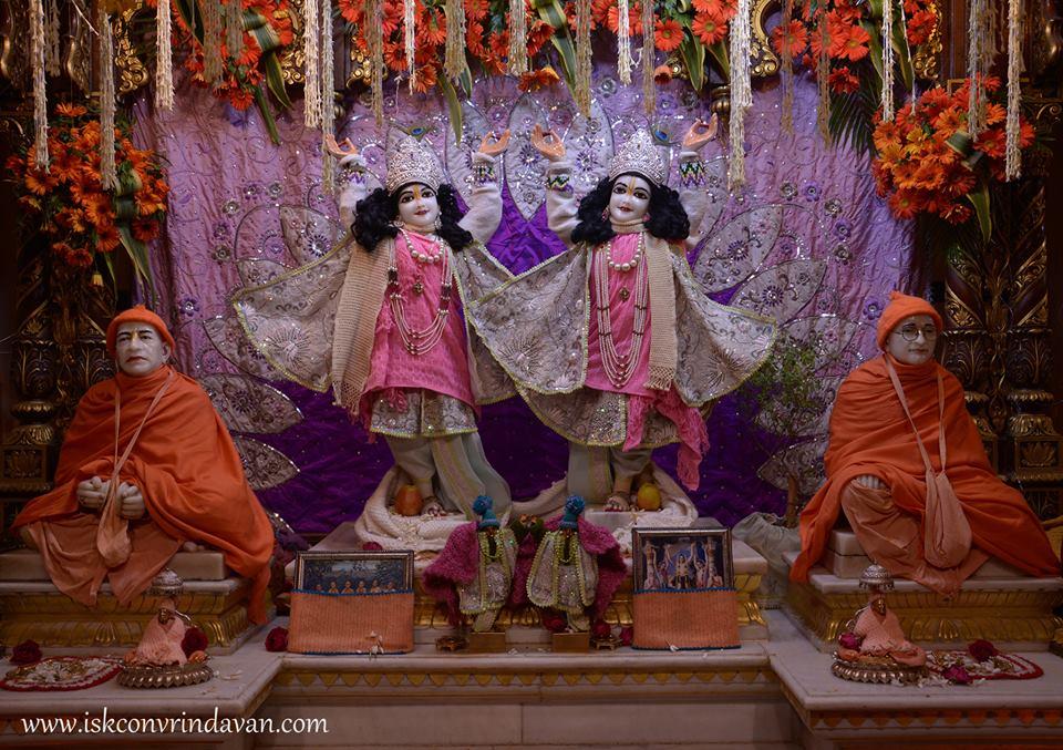 ISKCON Vrindavan Mangla Deity Darshan 25 Jan 2016  (3)
