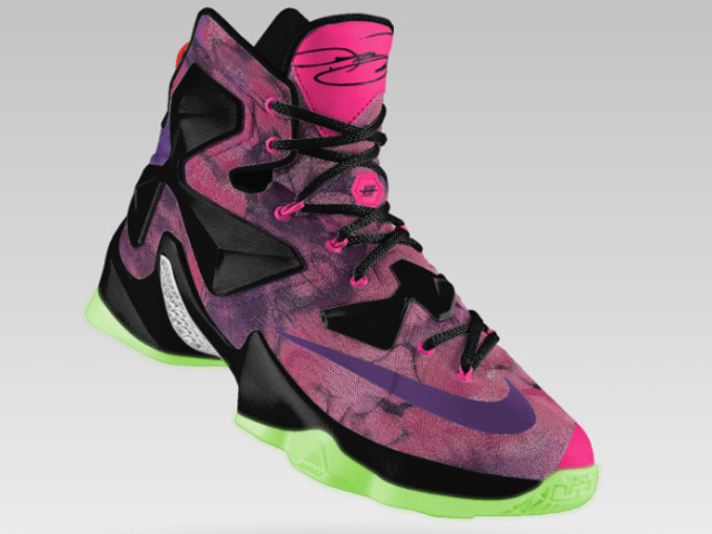 lebron shoes pink and black. lebron shares his nikeid 13 says you should make one too lebron shoes pink and black