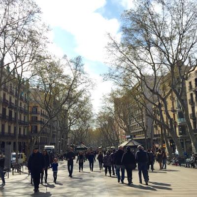 La Ramblas, Barcelona