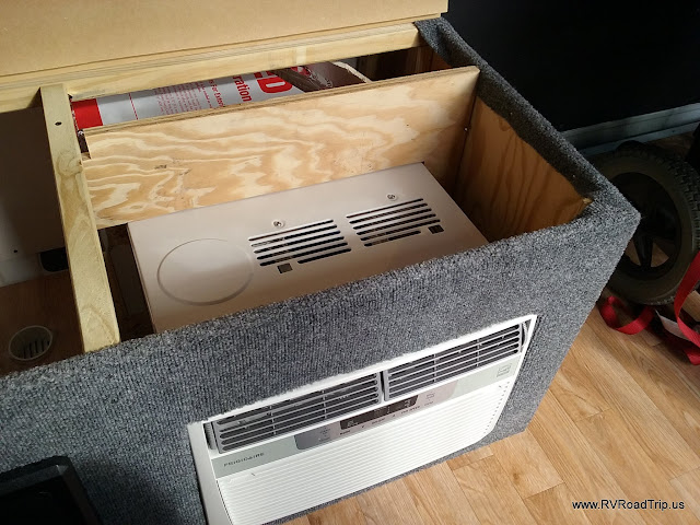 Ram promaster rv camper van conversion air conditioner for 110 window unit