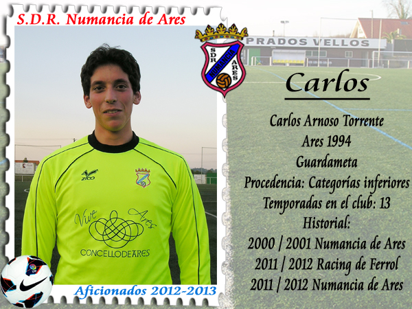ADR Numancia de Ares. Carlos Arnoso
