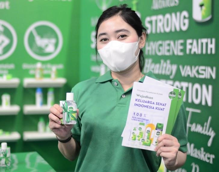 Perangi Covid-19, Dettol Hadirkan Solusi Produk Sanitasi Pada Layanan Vaksinasi Massal di Yogyakarta