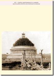 07-  castel sant'angelo e il ponte [ricostruzione ipotetica del mausoleo di adriano]R