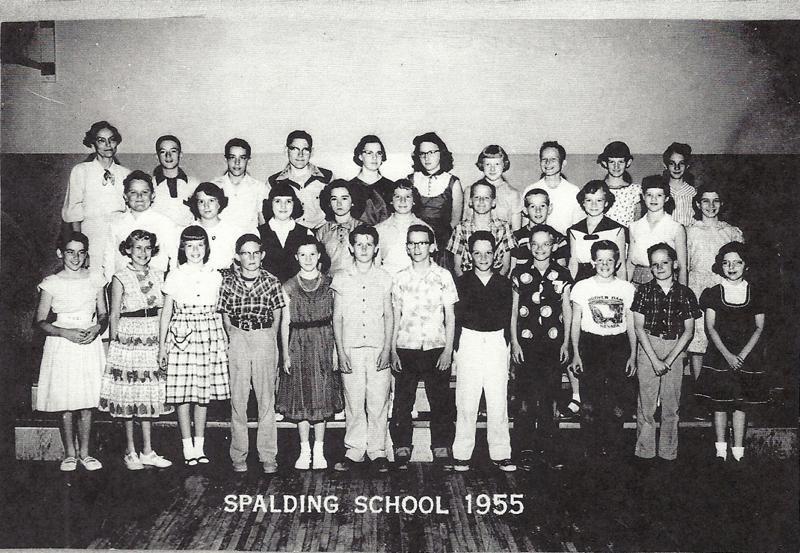 Spalding School Sixth grade 1955