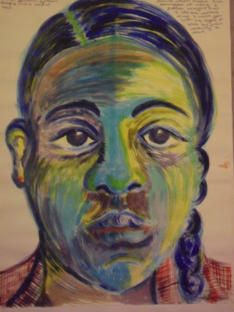 picasso blue period self portrait. Self Portrait Linked to