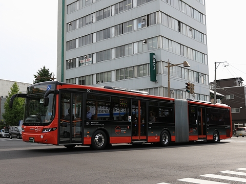 新潟交通 萬代橋線BRT 連接バス ・・・1