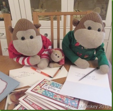 Writing Christmas Cards 1